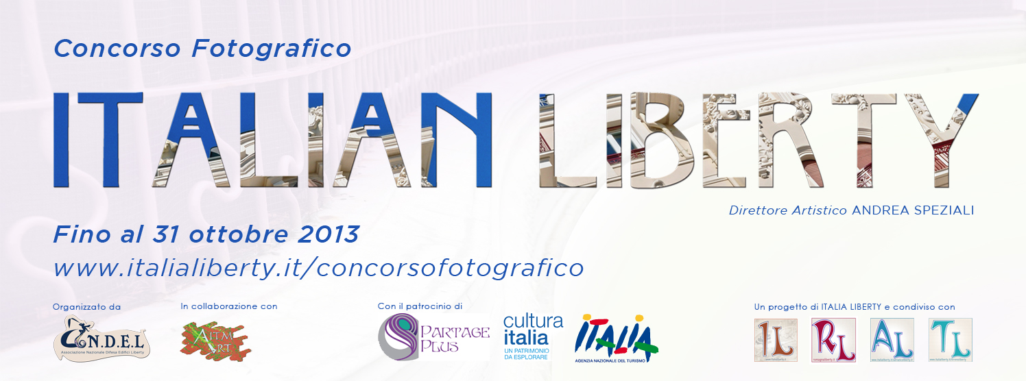 Ecco il logo del Photo Contest ITALIAN LIBERTY