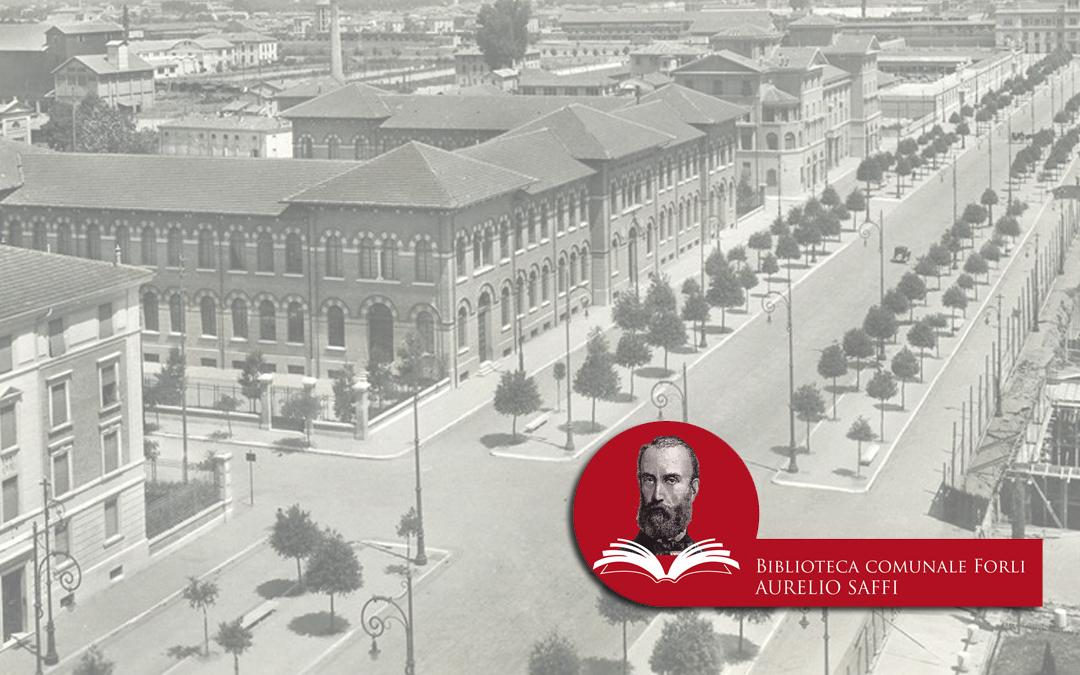 Concorso logo Biblioteca Aurelio Saffi a Forlì