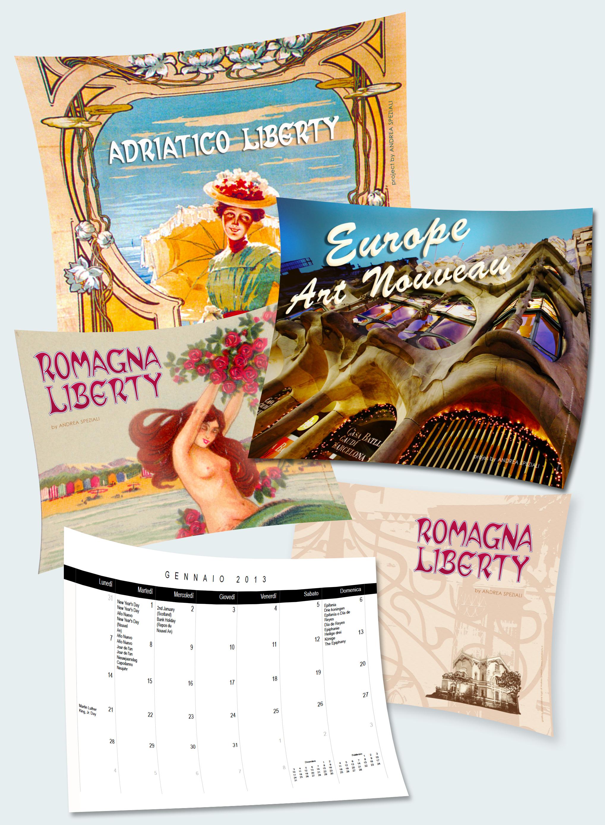 Ecco i calendari per l'anno 2013