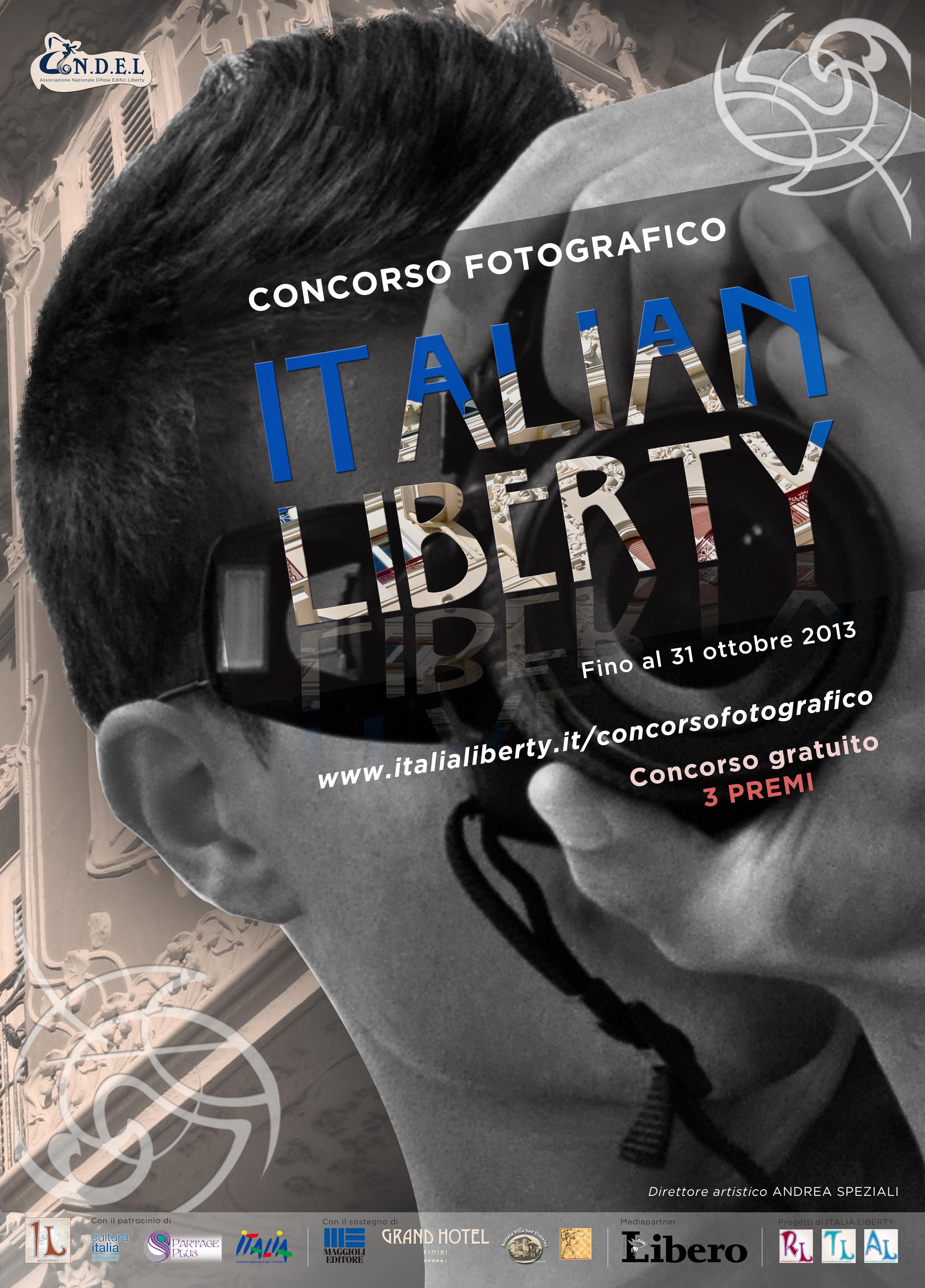 Al via il concorso fotografico ITALIAN LIBERTY
