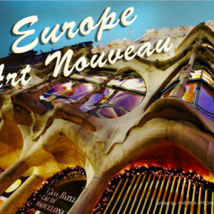 europe art nouveau calendario