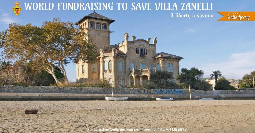 worldfoundraising villa zanelli a savona in stile liberty