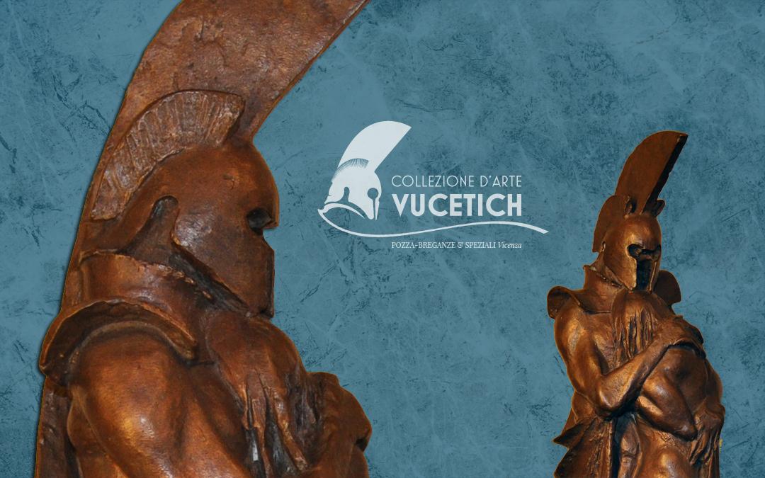 Logo per la Collezione d'Arte VUCETICH