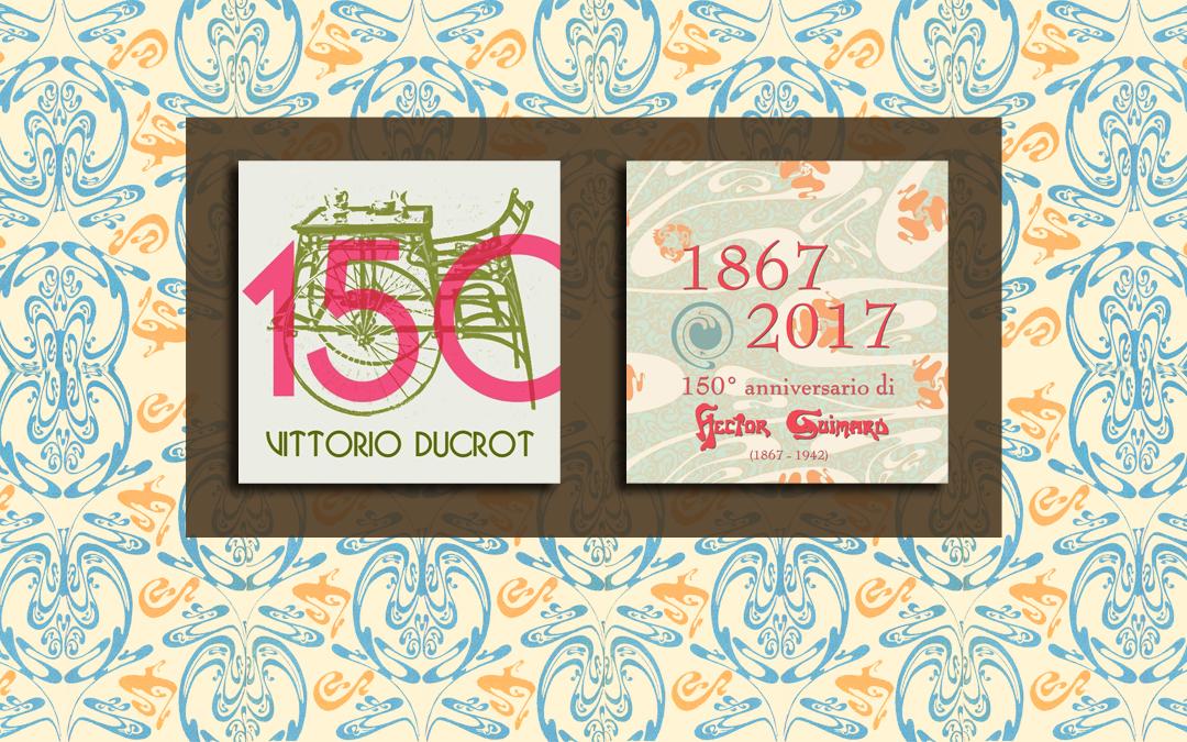 150 anni di Art Nouveau. Ducrot e Guimard