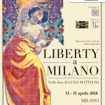 "Locandina mostra ""Liberty a Milano"""